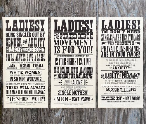 letterpress prints