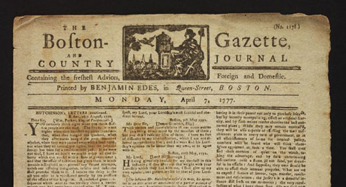 boston gazette
