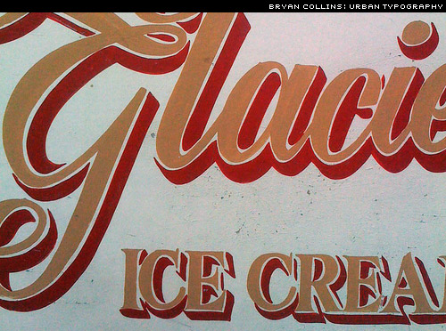 Urban Typography. Street lettering