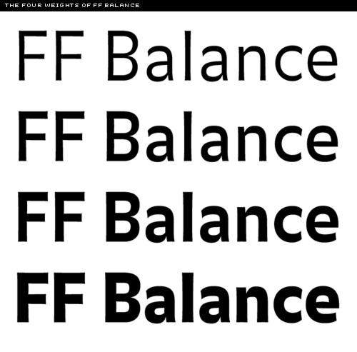 FF Balance 4 weights