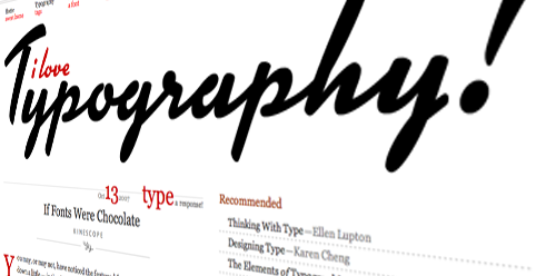 Kinescope on I Love Typography