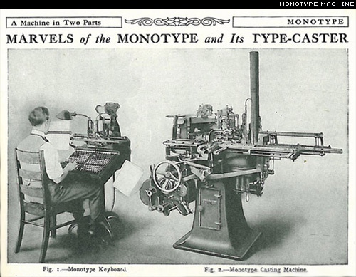 monotype machine