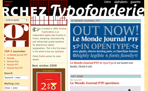 I love Typography (ILT) fonts, typefaces, the the lettering arts