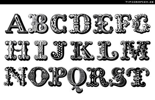 typografism Swedish type sit